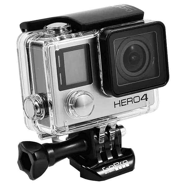 GoPro Hero 4 Silver or Black Edition 4K Action Camera Waterproof with LCD Touchscreen - Refurbished $159.96 + Free Shipping