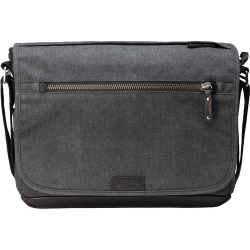 Tenba Cooper Luxury Canvas 13 Slim Camera Bag with Leather Accents (Gray) $129.99 + Free Shipping