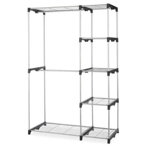 Portable Closet Organizer Storage Rack - $25.49 + Free Shipping