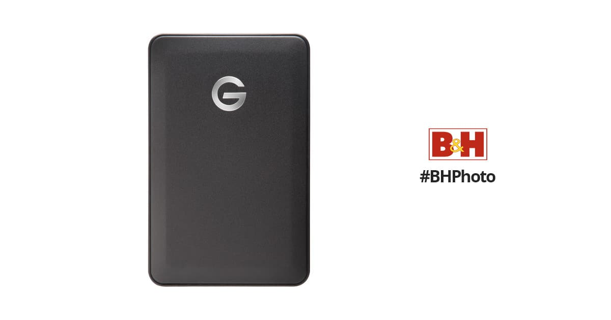 "G-Technology 2TB G-DRIVE mobile USB 3.0 Hard Drive (Black) + HGST 2.5"" Branded Soft Case for $69 + Free Shipping"