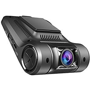 "Vikcam Dash Cam Dashbord Car Camera Recorder FHD 1080P with 2.45"" Screen and Sony Senor $37 AC + FSSS"