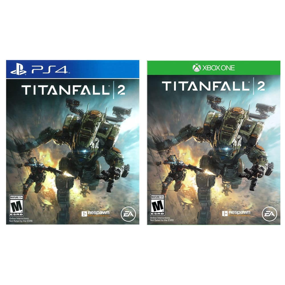 Titanfall 2 (PS4 or Xbox One)  $7.50 + Free Shipping