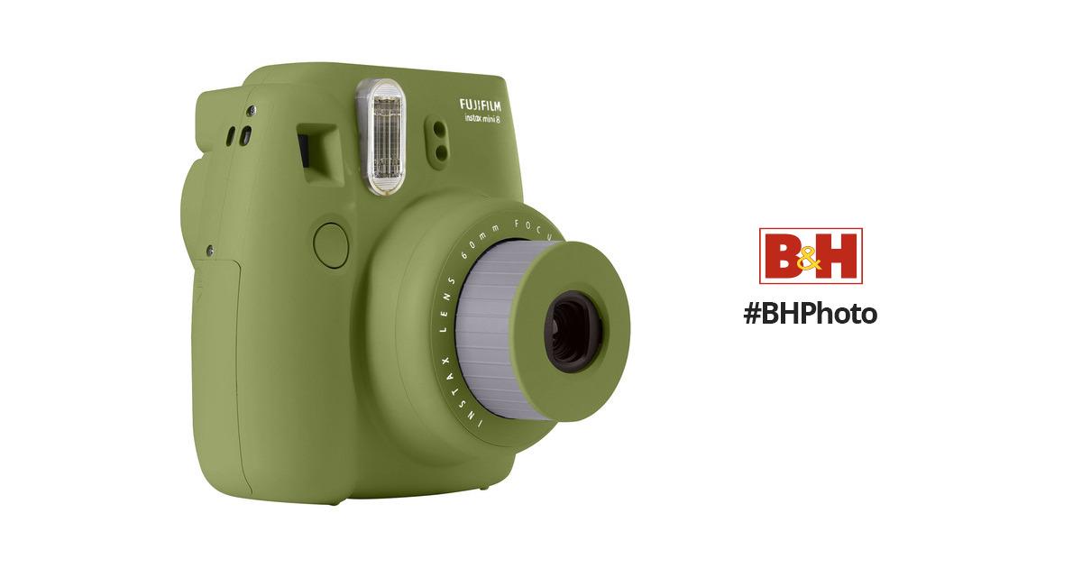 Fujifilm instax mini 8 Instant Film Camera (Avocado) $50 or $40.44 w/ Google Pay + Free Shipping