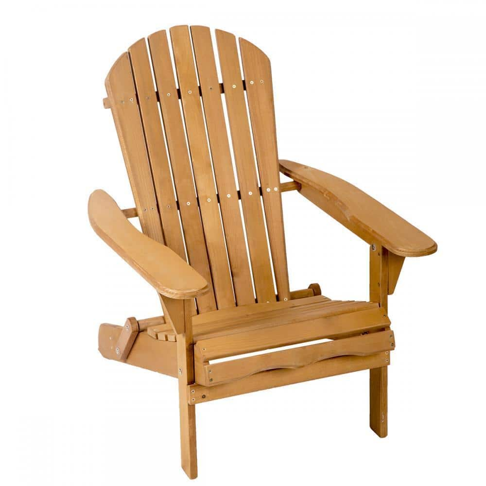 Outdoor Wood Adirondack Patio Chair  $33.99 + Free Shipping
