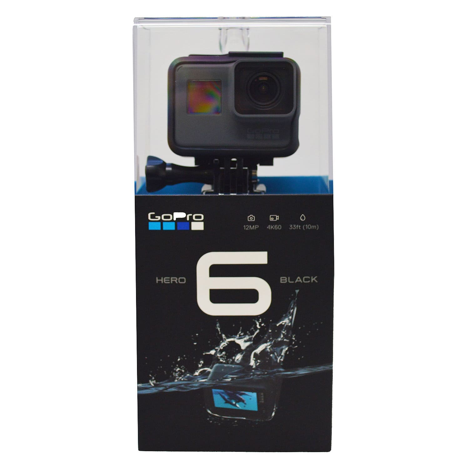 *Starts 02/01/18 @ 12AM PST* GoPro HERO6 4K Black Video Action Camera CHDHX-601 for $373.99 + Free Shipping