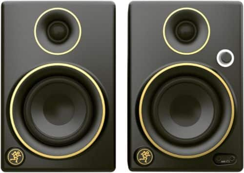 Mackie Cr5bt Limited Edition Gold Trim 5 In. Multimedia Monitors Bluetooth (Pair) for $169.99 + Free Shipping