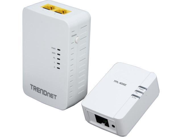 TRENDnet TPL-410APK AV500 Powerline with Wi-Fi N300 Extender Kit for $35 AC + Free Shipping