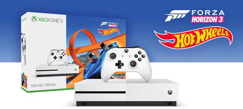 Xbox One S 500GB - Forza Horizon 3 Hot Wheels Bundle + $20 Newegg GC for $239.99 Shipped