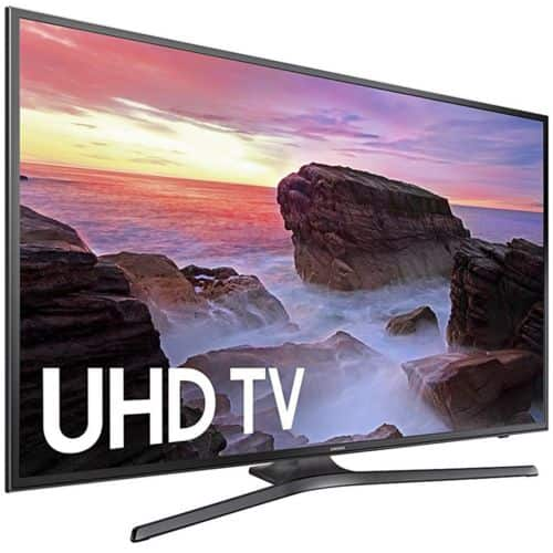 "Samsung UN50MU6300 50"" 4K Ultra HD Smart LED TV $409.99, Samsung UN55MU6300 55"" 4K Ultra HD Smart LED TV $499.99 + Free Shipping (eBay Daily Deal)"