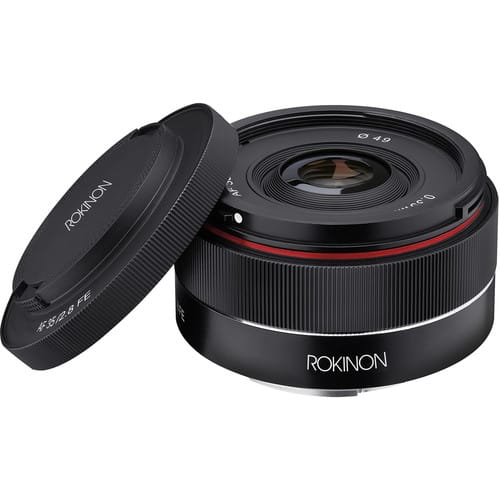 Rokinon AF 35mm f/2.8 FE Lens for Sony E for $279 + Free Shipping
