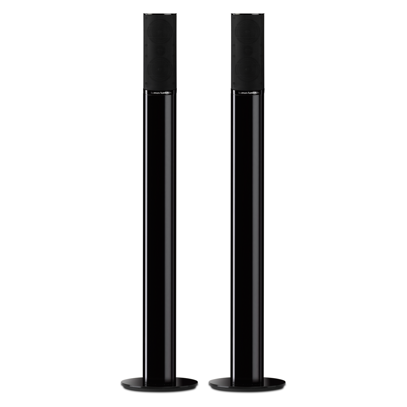 Harman Kardon HTFS 2 Speaker Stands for HTKS 9, HKTS 16 & HKS 4 Satellite Speakers for $50 + Free Shipping