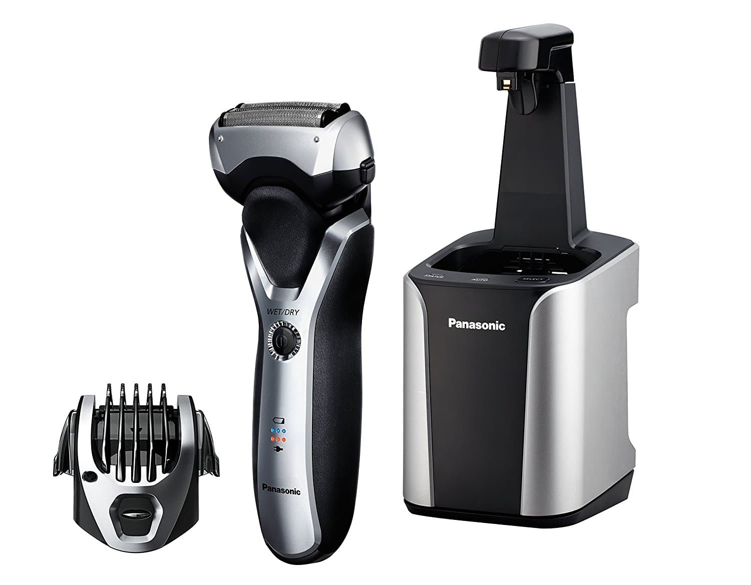Panasonic ES-RT97-S Arc3 Electric Razor, Men's 3-Blade Cordless with Wet/Dry Convenience, Comb Attachment for Trimming w/ Automatic Clean & Charge Station $53.99 AC Shipped