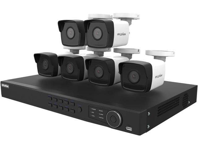 LaView LV-KNT984A42W4 4MP zoom HD 8 Channel NVR PoE IP Security System, with 2pcs 4MP (2688 x 1520p) and 4pcs 2MP (1920 x 1080p) Bullet Camera (No HDD Included) for $379.99 Shipped