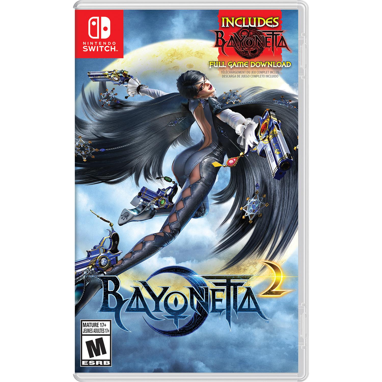 *Starts 02/21/18 @ 12AM PST* Bayonetta 2 Physical Game Card + Bayonetta Digital Download Nintendo Switch for $50.35 AC Shipped