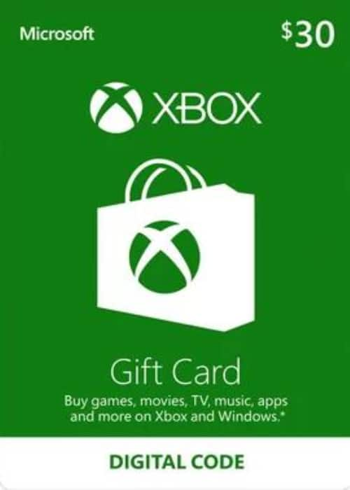 $30 XBOX Live Gift Card Key for $24.99
