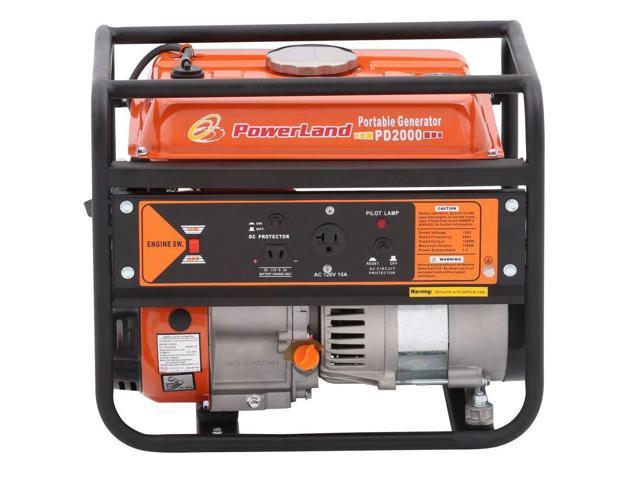 Powerland Portable 1500 Watt, 2.4 HP Gas Electric Generator $125 Shipped