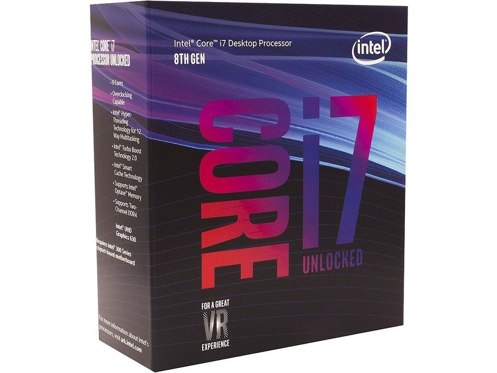 Intel BX80684I78700K 8th Gen Core i7-8700K Processor $329.99 + Free Shipping (eBay Daily Deal)