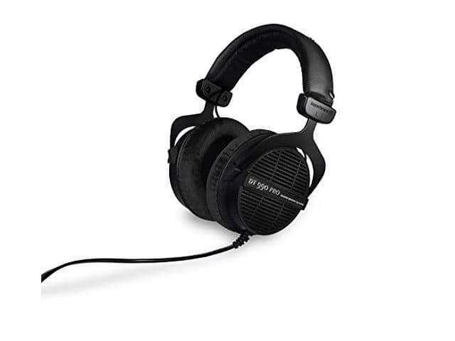 Beyerdynamic DT990 Open Back PRO Dynamic Headphones (Black, Limited Edition) $139.99 Shipped