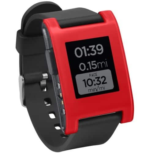 Pebble Smartwatch (Cherry Red) $22.99 + Free Shipping (eBay Daily Deal)