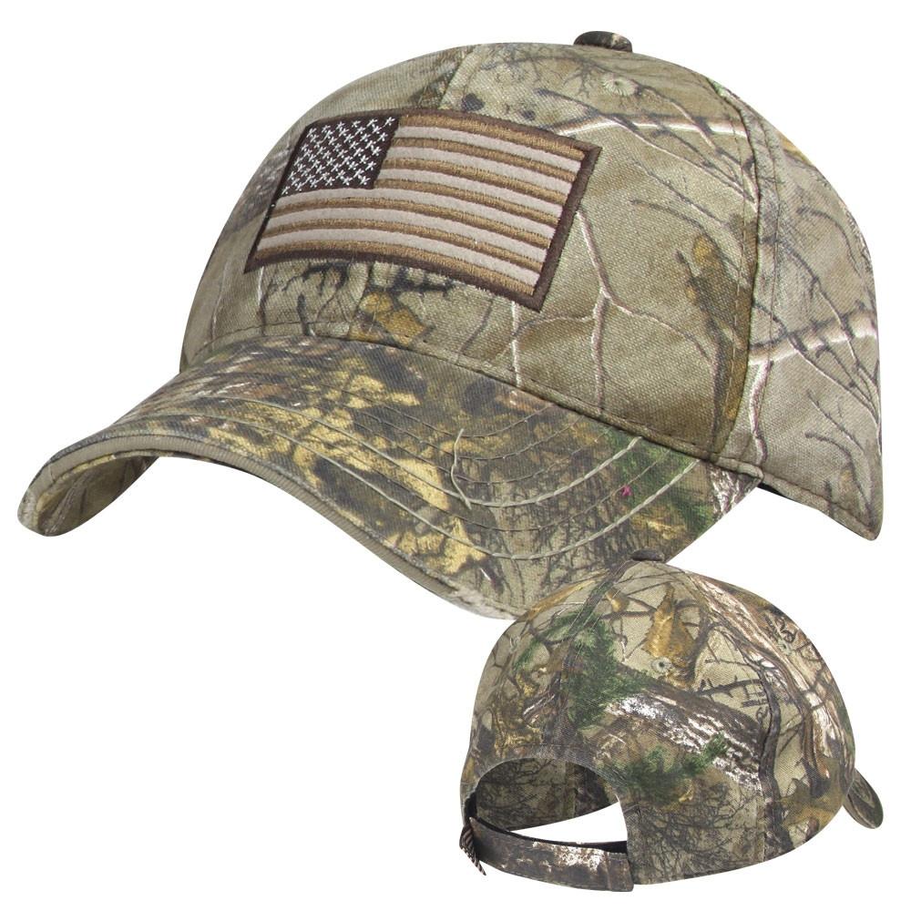 Realtree American Flag Cap $7.95 + Free Shipping