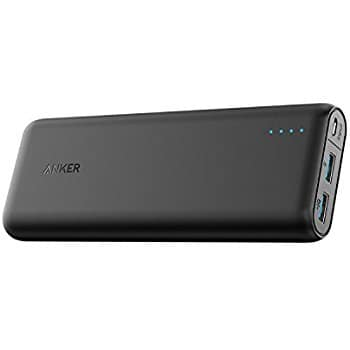 Anker PowerCore 15600 mAh External Battery $23.99, Anker PowerLine+ USB C to USB 3.0 cable(6ft) $9.79, And More + FSSS