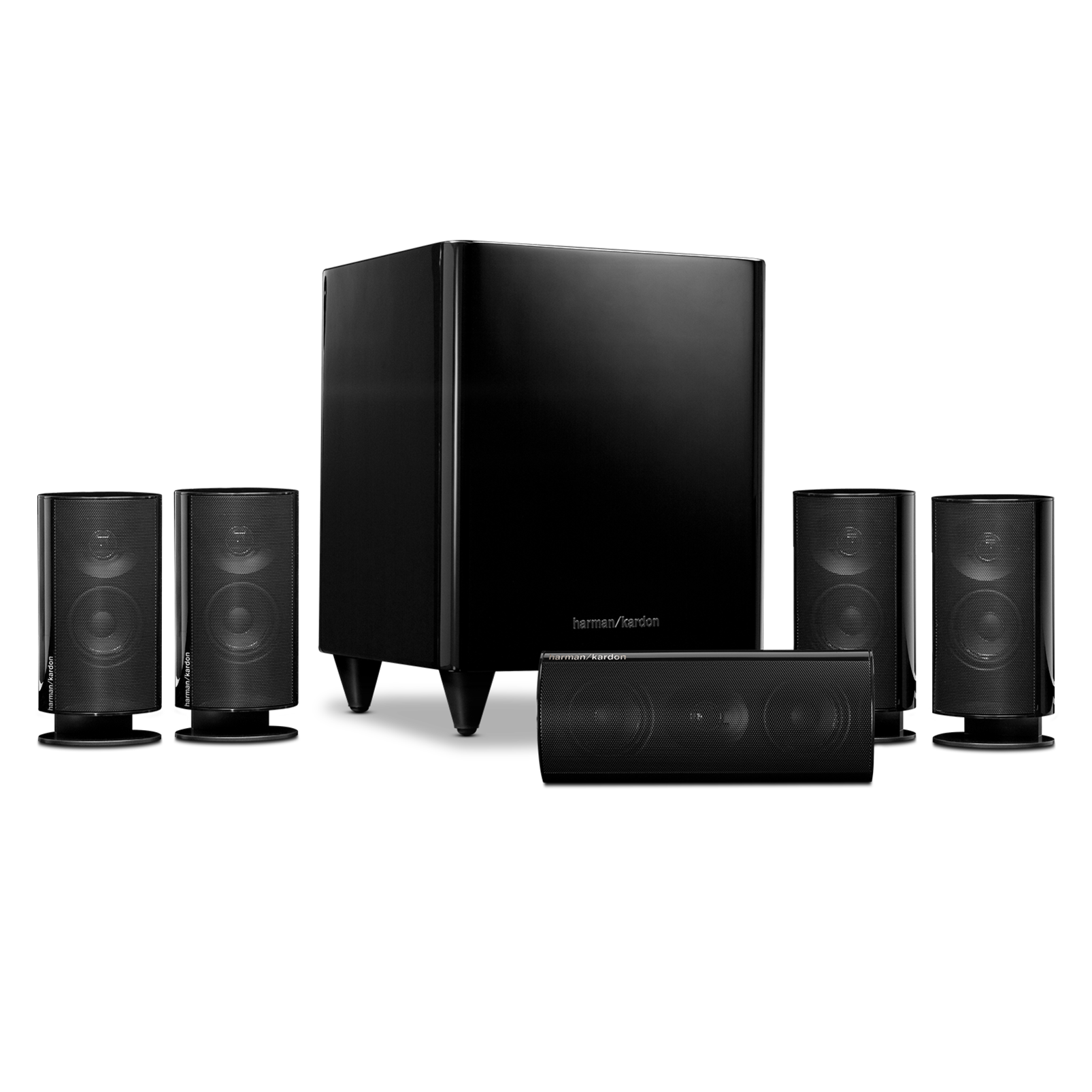 Harman Kardon HKTS 20 5.1 Home Theater Speaker System Refurbished $169.99 + Free Shipping