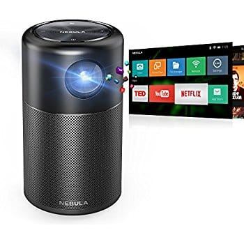 Anker Nebula Capsule Smart Wifi Pico Projector Andriod 7.1 System with built-in speaker $277.99 + FSSS