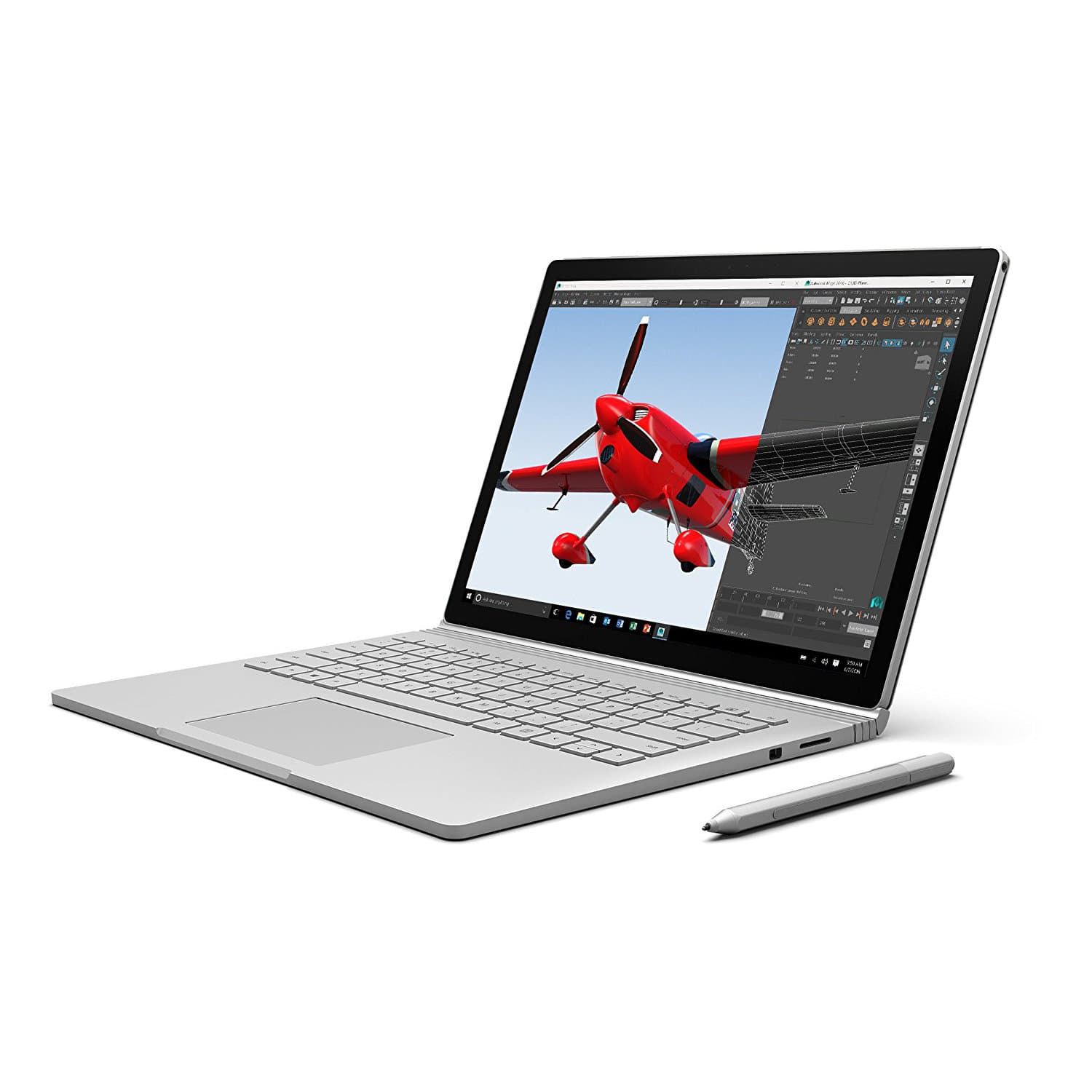 "Microsoft Surface Book SW6-00001 Core i7 6600U (2.60 GHz) 16GB Memory 512 GB SSD NVIDIA GeForce Graphics 13.5"" 3000 x 2000 Touchscreen $1250 AC + FS"