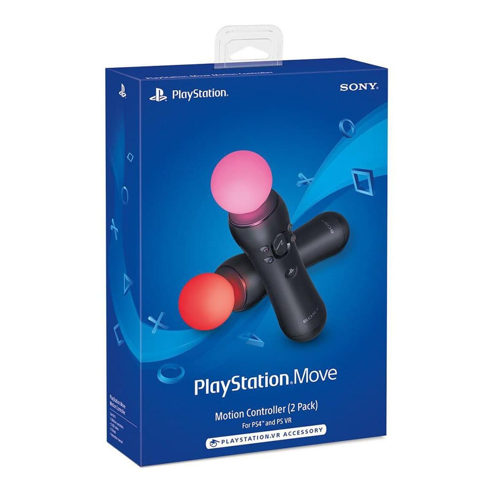 Sony PlayStation Move Motion Controller (2-Pack) $74.65 AC Shipped