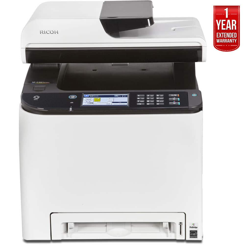 Ricoh SP C261SFNw A4 Color Laser Multifunction Printer + 1-Year Extended Warranty $179.99 + Free Shipping (eBay Daily Deal)