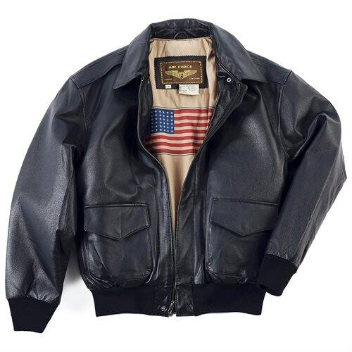 Landing Leathers Men's Air Force A-2 Leather Flight Bomber Jacket - $79.20 + Free Shipping