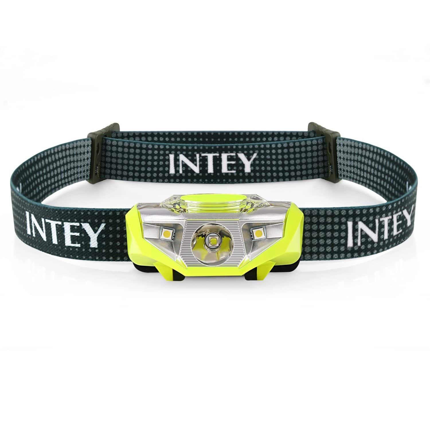 INTEY Headlamp IPX5 Waterproof Flashlight 6 Modes with Spotlight and Floodlight for $3.49 + FSSS
