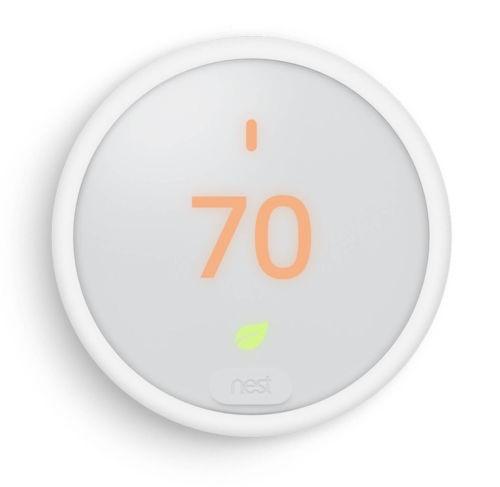 Nest Thermostat E White $109.99 AC w/ Pledge + Free Shipping
