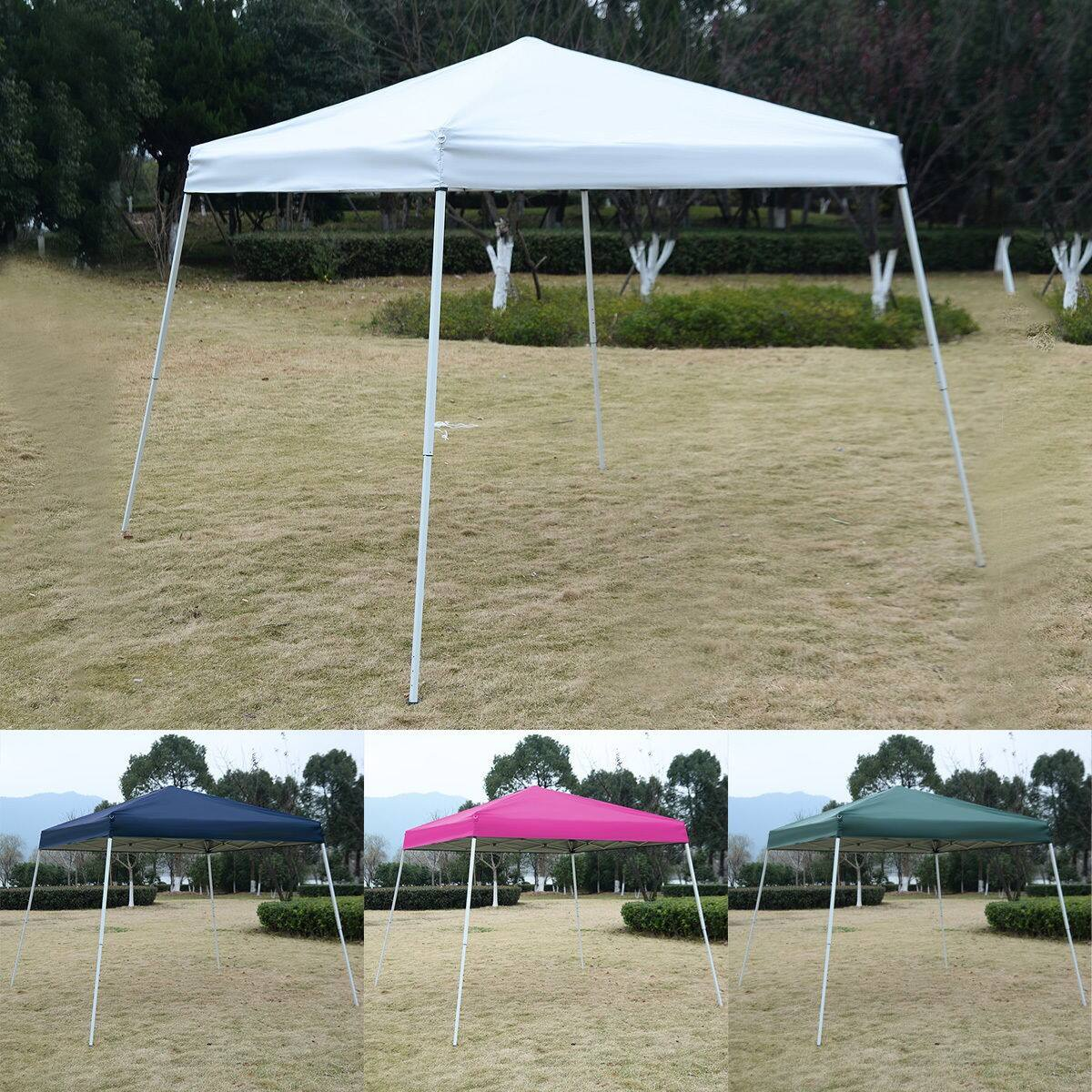 Costway Goplus 10'x10' Canopy w/ Carrying Bag $30.95 (BL/GR) + Free Shipping