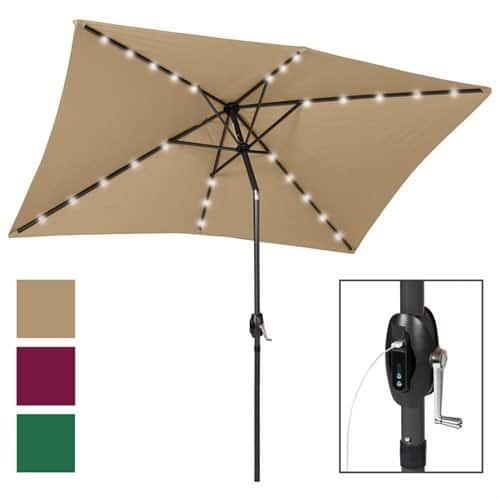 ip bcp x umbrella tilt multicolor led adjustment solar with patio