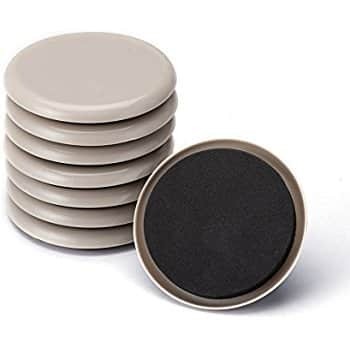 CO-Z Furniture Sliders (16 Pack, 3.5 inch) for $6.49 AC + FS w/ Prime