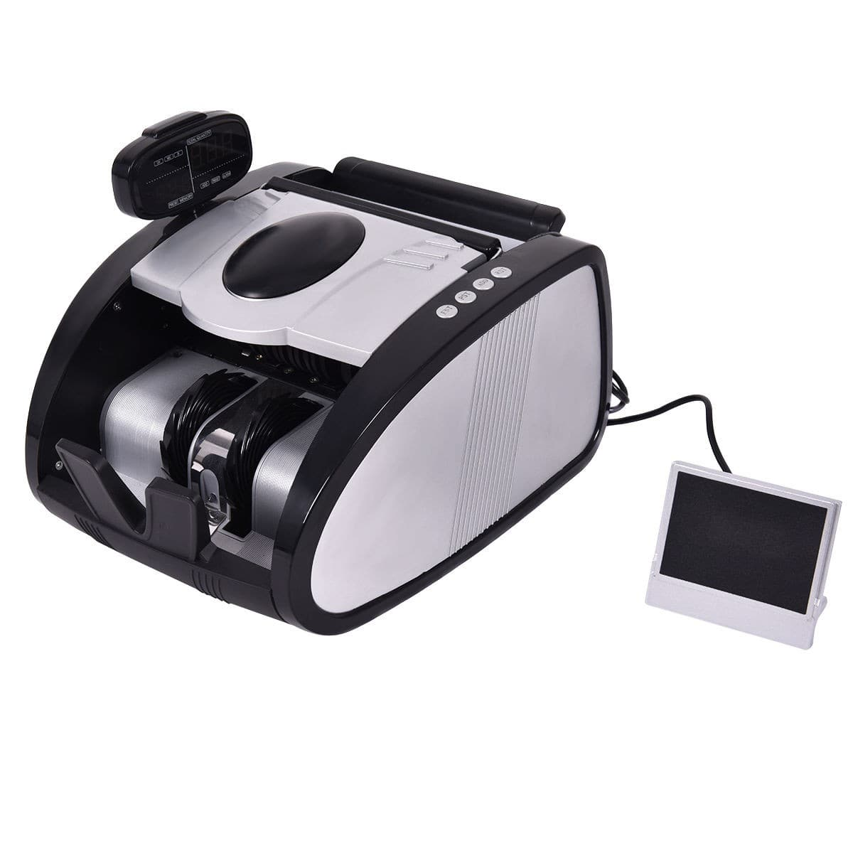 Costway Automatic Cash Money Currency Bill Counter Machine $46.95 + Free Shipping