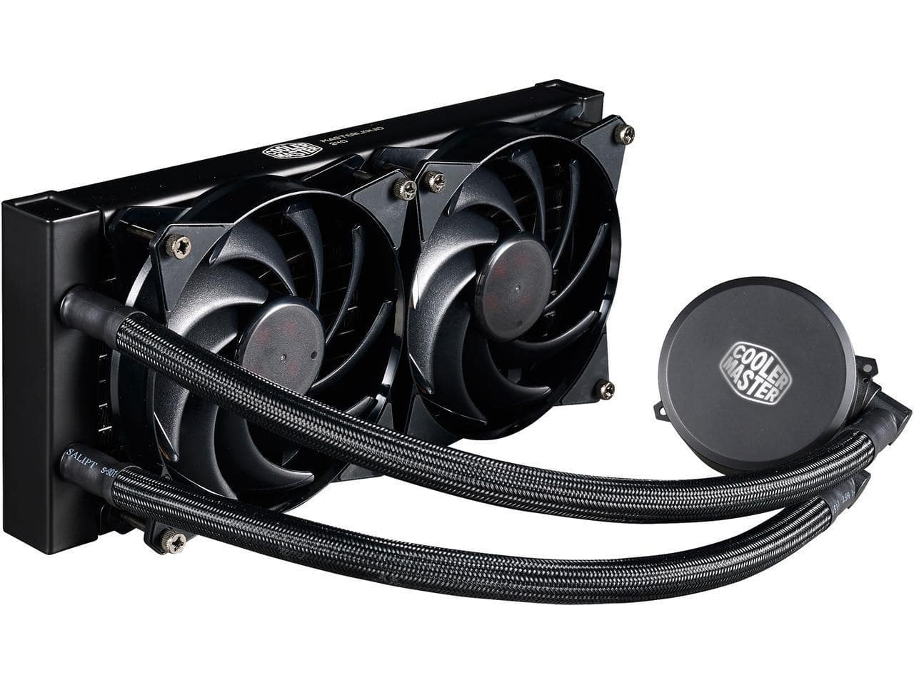 MasterLiquid 240 All-in-one CPU Liquid Cooler with Dual Chamber Pump by Cooler Master - $40 AC Shipped