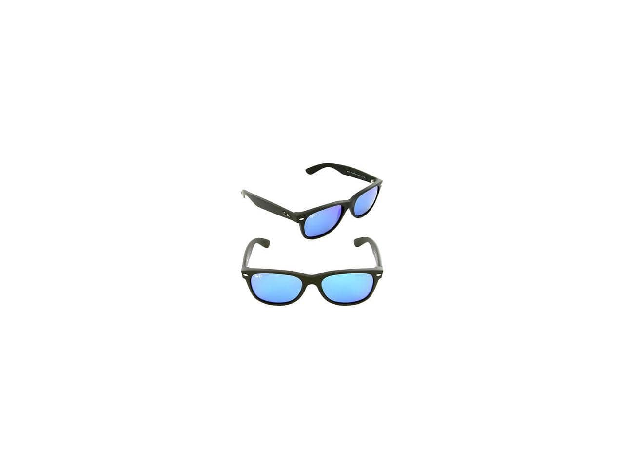 Ray Ban New Wayfarer Flash Sunglasses (55mm) RB2132 for $64.99 + FS