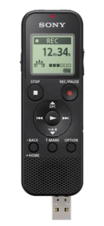 Sony ICD-PX370 4GB Mono MP3 Digital Voice Recorder with Built-in USB - Black for $38.20 AC + Free Shipping