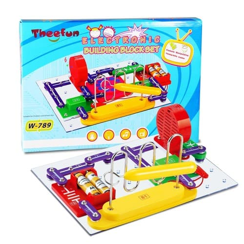 Theefun 789-Projects Electronics Discovery Kit - $15.99 AC + FSSS