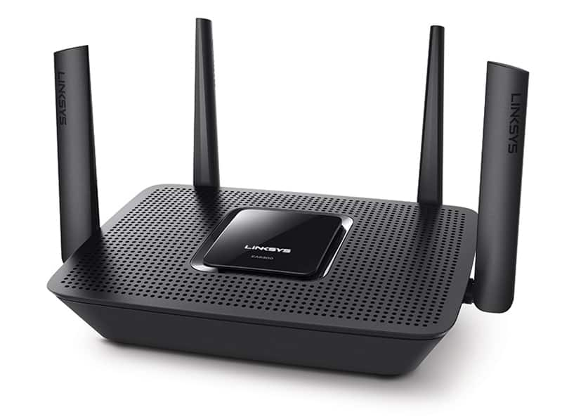 Linksys EA8300 Max-Stream AC2200 Tri-Band Wi-Fi Router + AC1200 Range Extender for $169.99 AC + Free Shipping