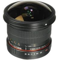 Samyang 8mm Fisheye Lens $154 AC + Free Shipping