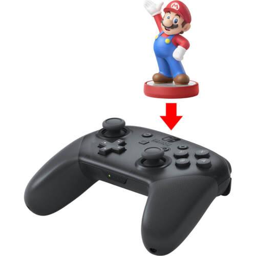 Nintendo Switch Pro Wireless Game Controller - Black for $56.10 AC + Free Shipping