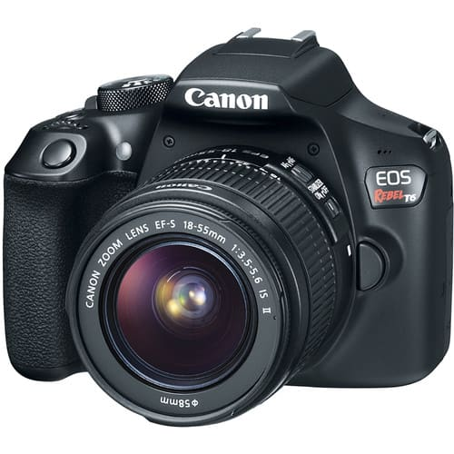Canon EOS Rebel T6 DSLR Camera with 18-55mm Lens for $399 Or Canon T6 w/18-55 & 75-300 for $449 + Free Shpping