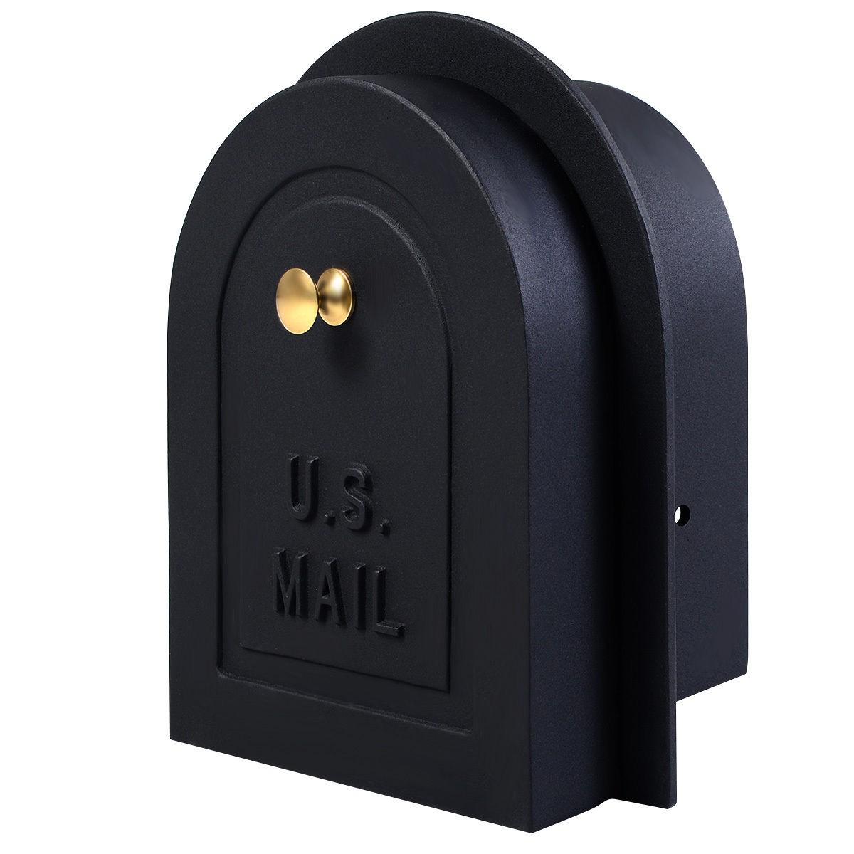 "Costway 8"" Replacement Cast Aluminum Mailbox Door $29.95 + Free Shipping"