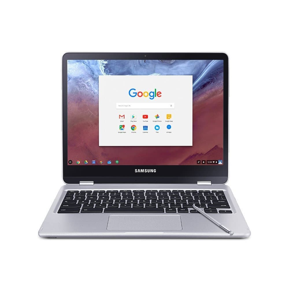 """Samsung - 12.3"""" Chromebook Plus - Touch Screen- 4GB memory- 32GB eMMC Flash Memory Laptop for $360 AC Shipped"""