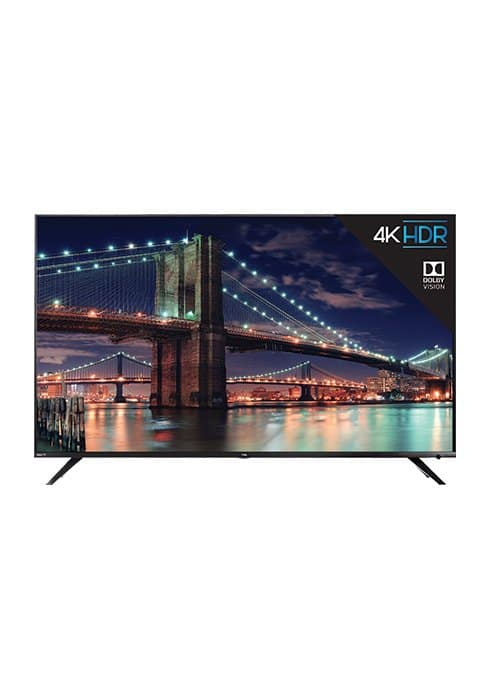 TCL 43S517 43-inch 4K UHD Dolby Vision/HDR 10 Roku Smart TV (2018 Model): $339.99 AC + Free Shipping