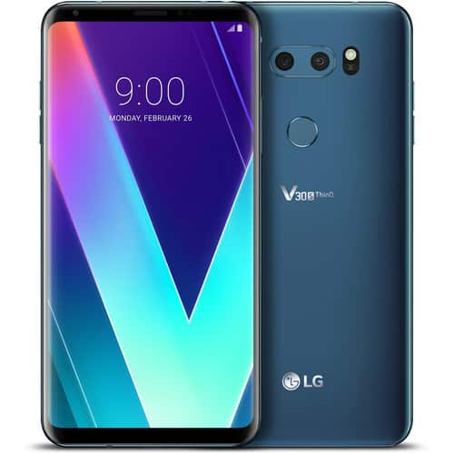 LG V30S ThinQ 128GB Smartphone (Unlocked, Glossy Moroccan Blue) for $729.99 Shipped