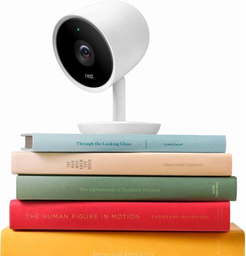 Nest Cam IQ Indoor Full HD Wi-Fi Home Security Camera 2-Pack, White, $299.99 AC w/ Pledge + Free Shipping